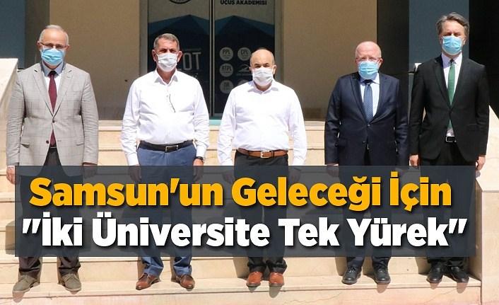 Samsun Üniversitesi'nde istişare görüşmesi