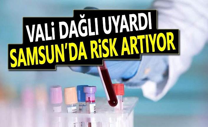 Samsun Valisi Dağlı'dan Koronavirüs Uyarısı