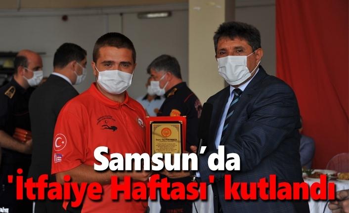 Samsun'da 'İtfaiye Haftası' kutlandı
