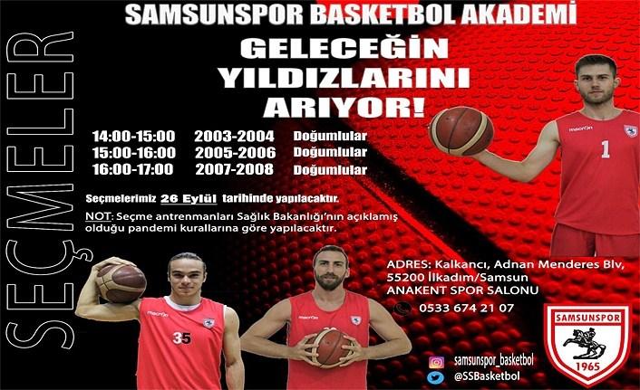 Samsunspor Basketbol'da geleceğin yıldızları seçilecek!