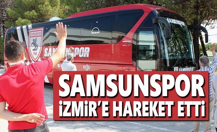 Samsunspor İzmir'e hareket etti