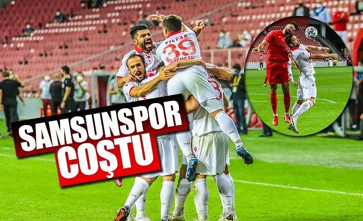 Samsunspor Ümraniyespor'u 3-0 yendi
