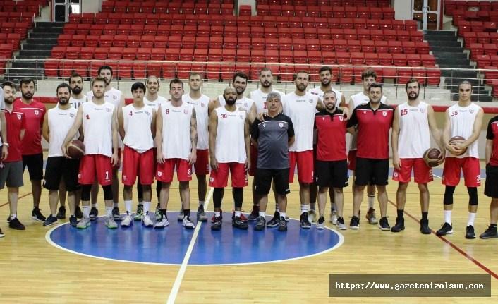 Samsunspor Basketbol hazırlıklarına devam ediyor