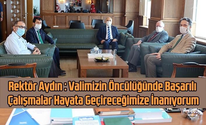 Vali Dağlı Samsun Üniversitesi'nde