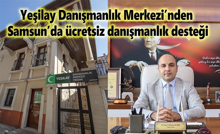 Yeşilay Danışmanlık Merkezi'nden Samsun'da ücretsiz danışmanlık