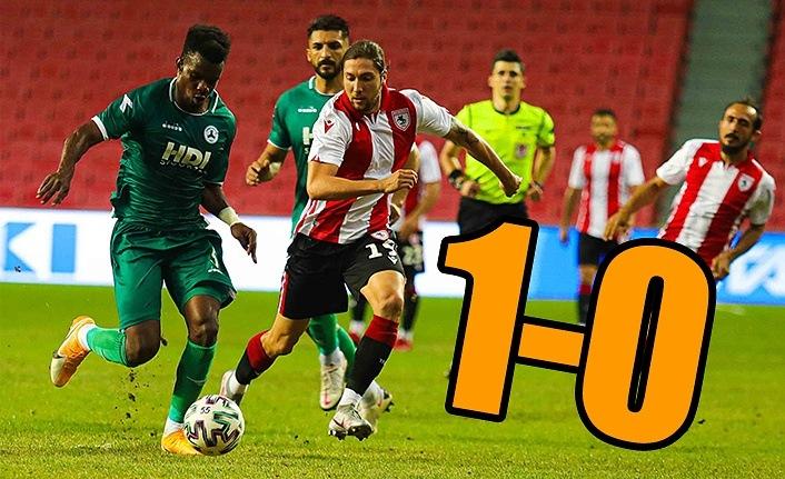 Yılport Samsunspor Giresunspor'u ağırladı 1-0