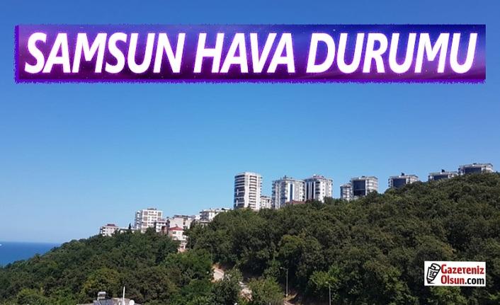 13 Ekim Salı Samsun Hava Durumu, Samsun'da bugün Hava Nasıl Olacak!