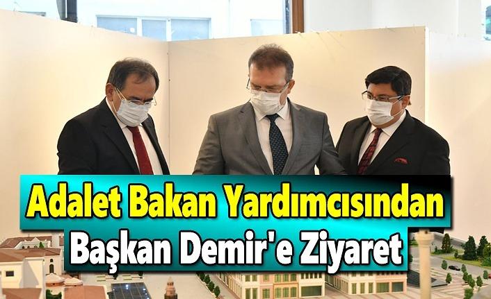 Adalet Bakan Yardımcısından, Başkan Demir'e Ziyaret