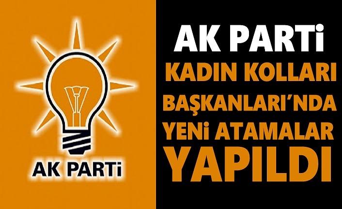 AK Parti Kadın Kolları Başkanlıkları'nda görev değişiklikleri yapıldı