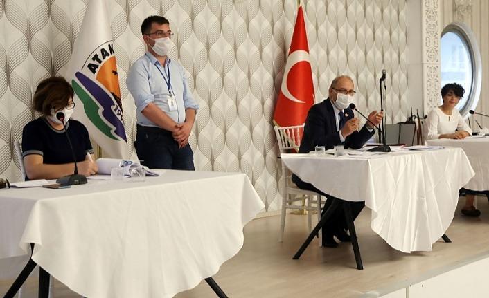 Atakum Belediye Meclisi ekim ayı olağan Toplantısı yapıldı