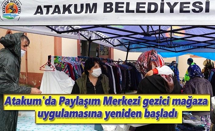 Atakum'da Paylaşım Merkezi gezici mağaza uygulamasına yeniden başladı