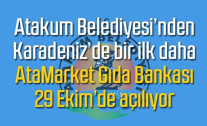 AtaMarket 29 Ekim'de Samsun'da açılıyor