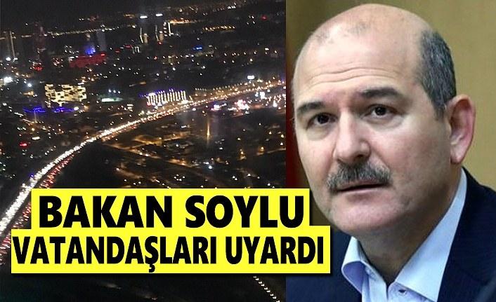 Bakan Soylu, İzmir'deki vatandaşları uyardı