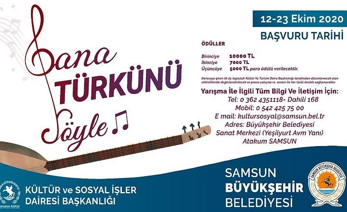 Bana Türkünü Söyle yarışması başvuruları başlıyor