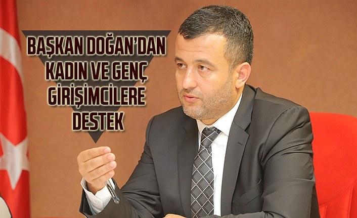 Başkan Doğan'dan kadın ve genç girişimcilere destek - Çarşamba Haber