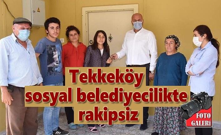 Başkan Hasan Togar, iki aileyi daha sıcak yuvaya kavuşturdu