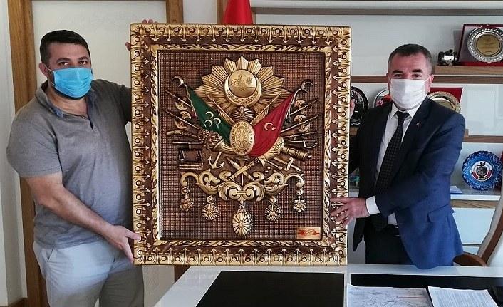 Başkan Özdemir'e yatırımcı ziyareti