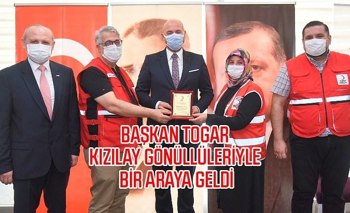 Başkan Hasan Togar: Kızılay her zaman gurur kaynağımız oldu