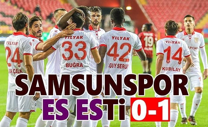 Eskişehirspor Samsunspor maç sonucu : 0-1 Samsunspor Haber