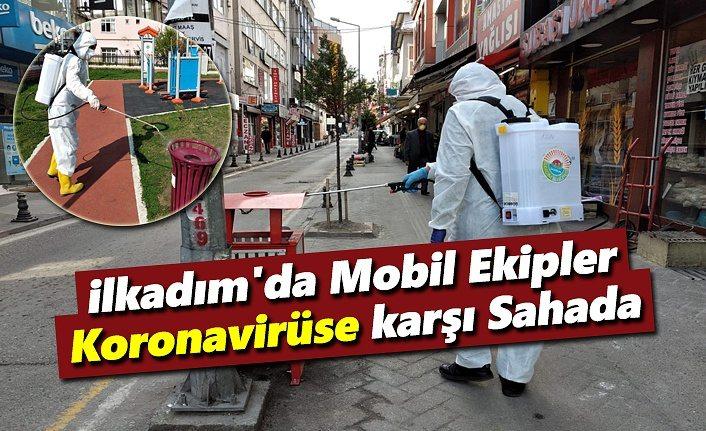 İlkadım'da Mobil Ekipler Koronavirüse karşı Sahada