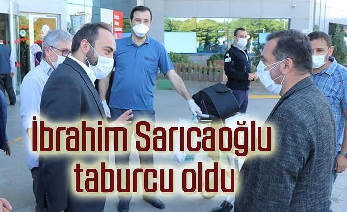 Kavak Belediye Başkanı İbrahim Sarıcaoğlu taburcu oldu