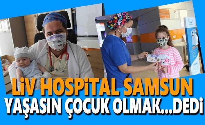 Liv Hospital Samsun 1 Ekim Dünya Çocuk Günü'nü kutladı