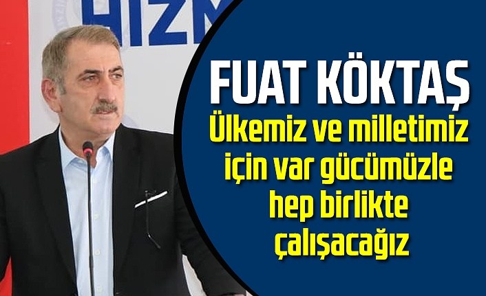 Milletvekili Köktaş: Sahada ve masa da güçlü Türkiye