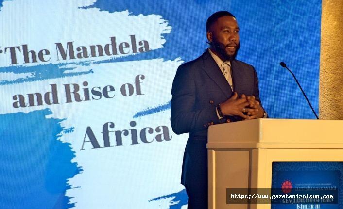 Nelson Mandela'nın torunu gençlerle buluştu