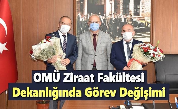 OMÜ Ziraat Fakültesi Dekanlığında Görev Değişimi
