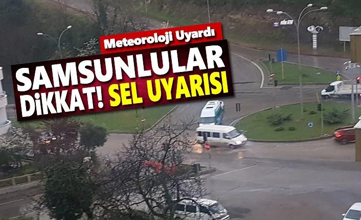 Samsun'a Kuvvetli Yağış Uyarısı, 19 Ekim Samsun Hava Durumu