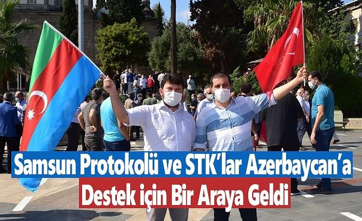 Samsun Azerbaycan için tek yürek