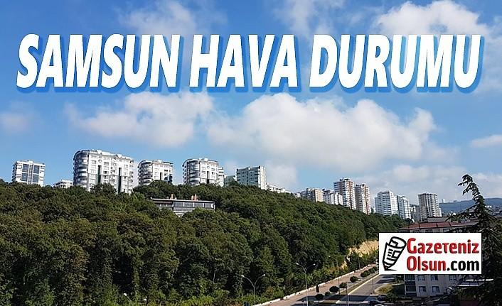 Samsun'da hava bugün nasıl olacak! 9 Ekim Samsun Hava Durumu