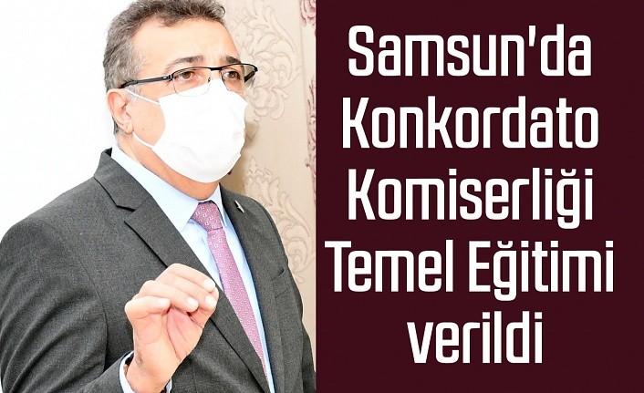 Samsun'da Konkordato Komiserliği Temel Eğitimi verildi
