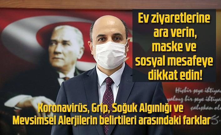 Samsun İl Sağlık Müdürü Muhammet Ali Oruç'tan kış uyarısı