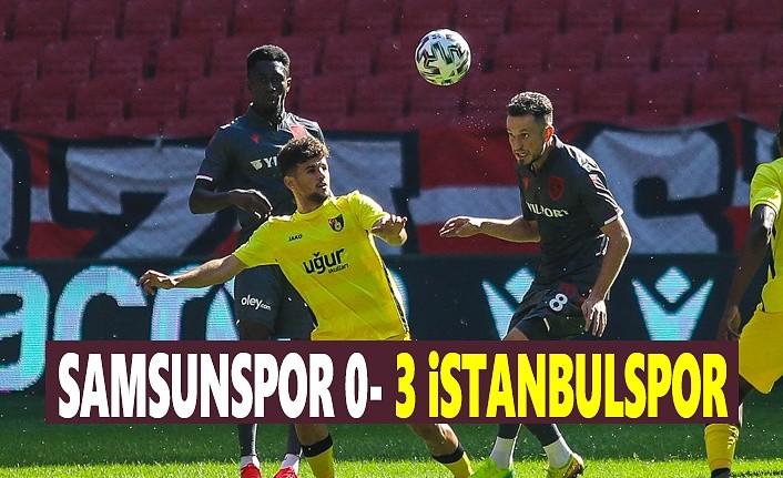 Samsunspor 0 - 3 İstanbulspor