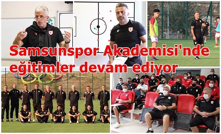 Samsunspor Akademisi'nde eğitimler devam ediyor