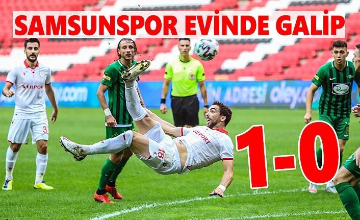 Samsunspor Akhisarspor maç sonucu: 1-0