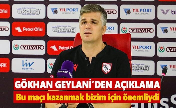 Samsunspor aynı 11'le iki tane maç oynayamadı!