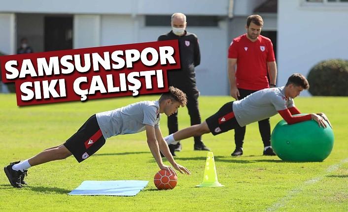 Samsunspor, İstanbulspor Maçına Hazırlanıyor