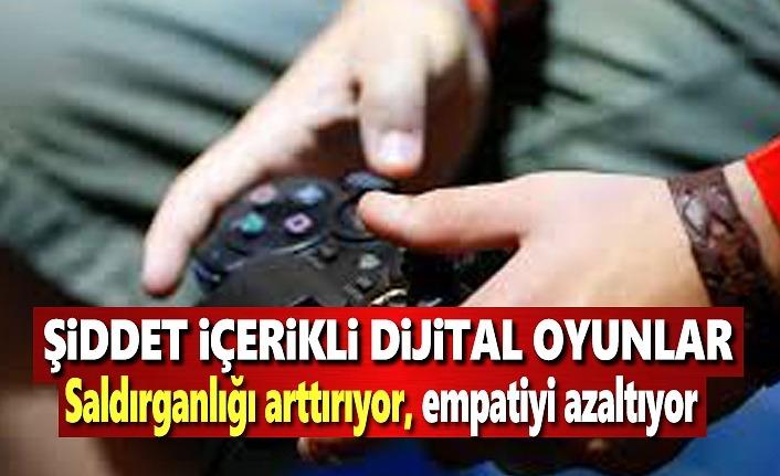 Şiddet içerikli oyunlar Saldırganlığı arttırıyor