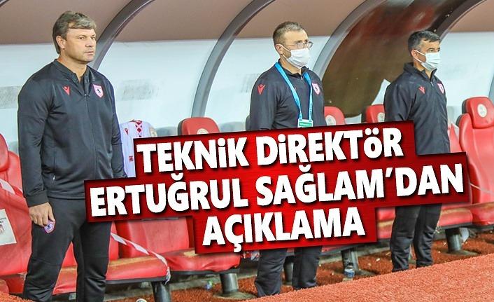 Teknik Direktör Ertuğrul Sağlam, Eskişehirspor maçını değerlendirdi