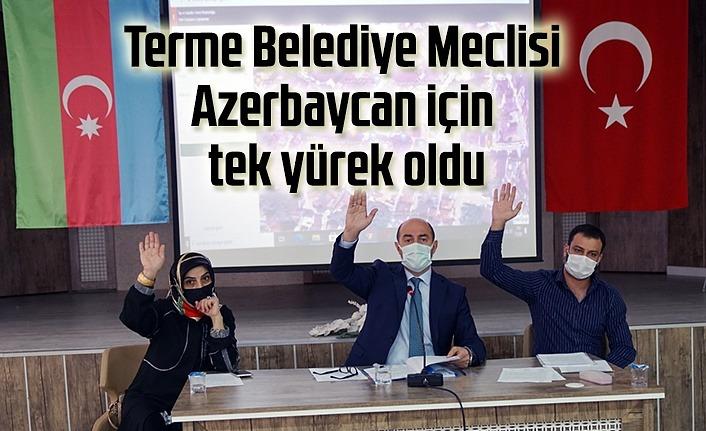 Terme Azerbaycan için tek yürek oldu