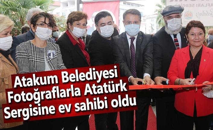 Atakum Belediyesi 'Fotoğraflarla Atatürk'sergisine ev sahibi oldu