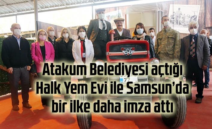 Atakum Belediyesi'nin açtığı Halk Yem Evi ile Samsun'da hayvancılık daha kârlı olacak