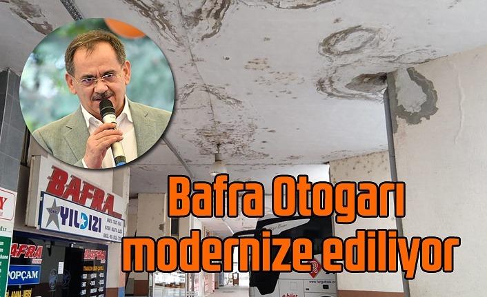 Bafra Otogarı'nda bakım ve onarım çalışmaları devam ediyor