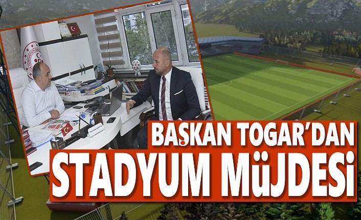Başkan Togar'dan Stadyum Müjdesi