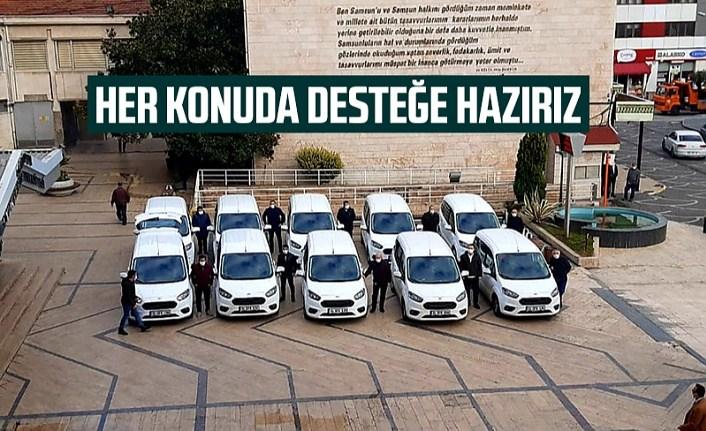 Büyükşehirden filyasyon ekiplerine araç desteği - Samsun Haber