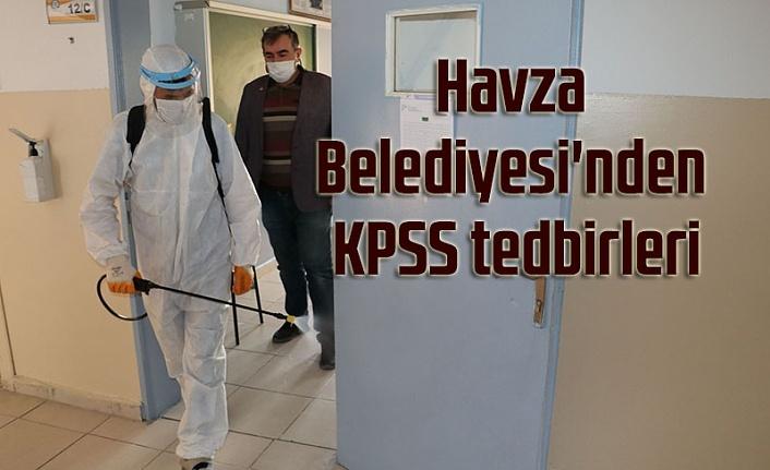 Havza Belediyesi'nden KPSS tedbirleri