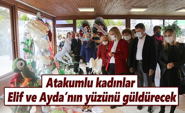 İzmir depreminin mucizesi Elif ve Ayda'yı Atakumlu Kadınlar mutlu edecek