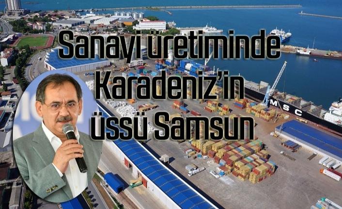 Karadeniz-Akdeniz otoyolu projesiyle Samsun'un önemini daha da artırıyor